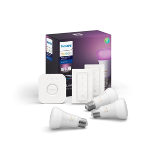 Philips Základní sada Philips HUE WHITE AND COLOR AMBIANCE 3xE27/9W/230V