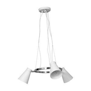Luminex Závěsné svítidlo BEVAN 3xE27/60W bílá
